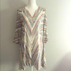 Nic + Zoe Tunic Dress Size Medium